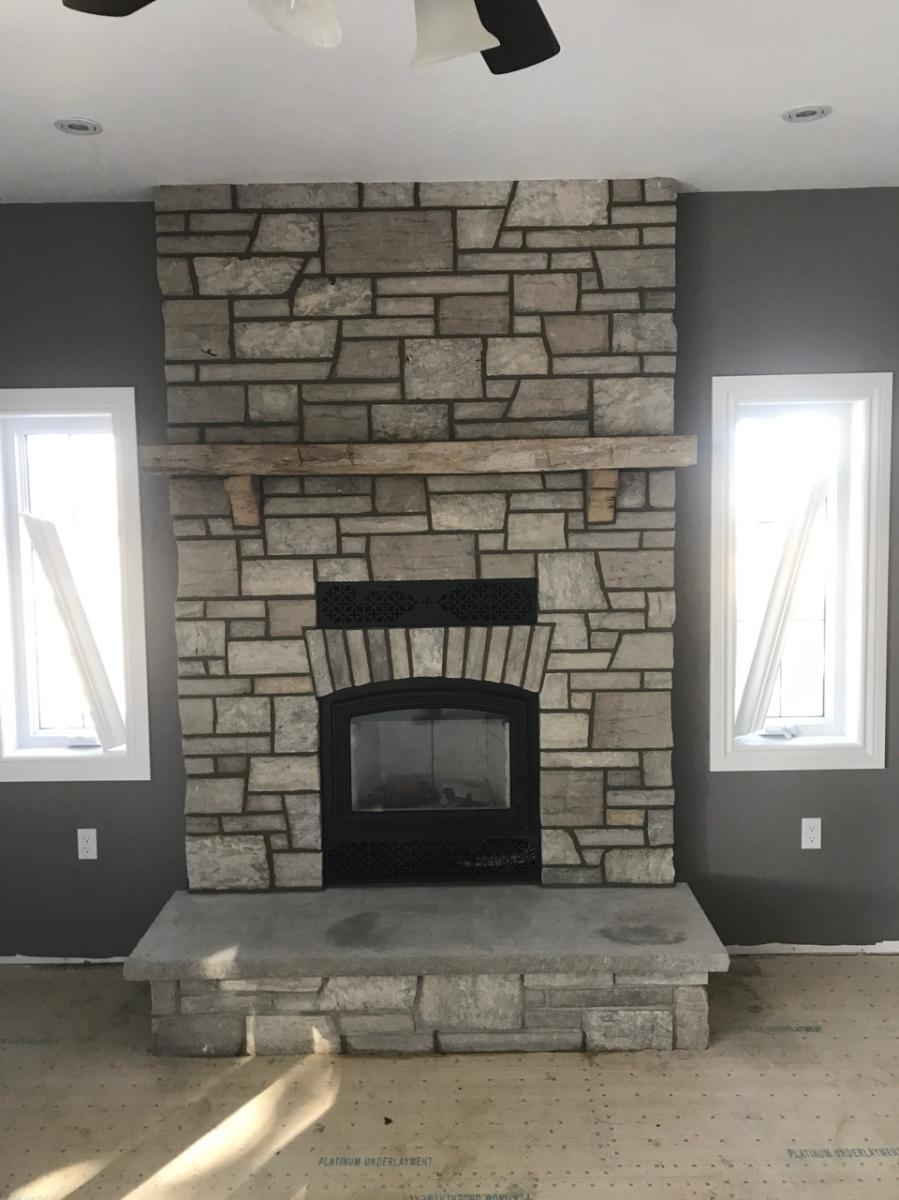 Fireplace Work