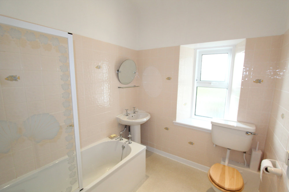 Burnside holiday cottage to let Galloway, bathroom.jpg