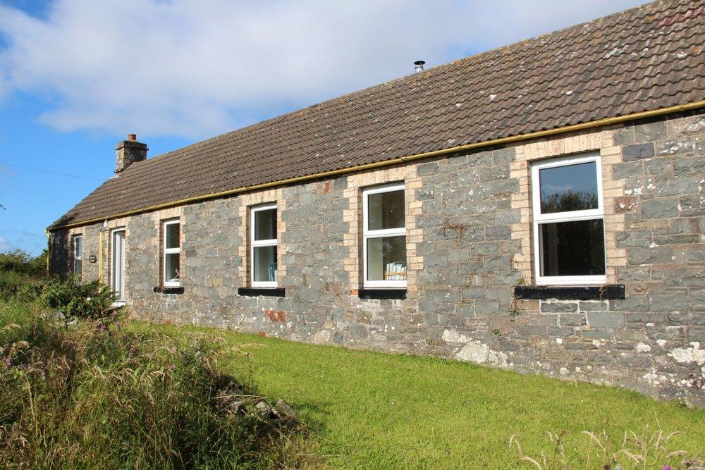 Burnside holiday cottage to let Galloway, overlooks large garden.jpg