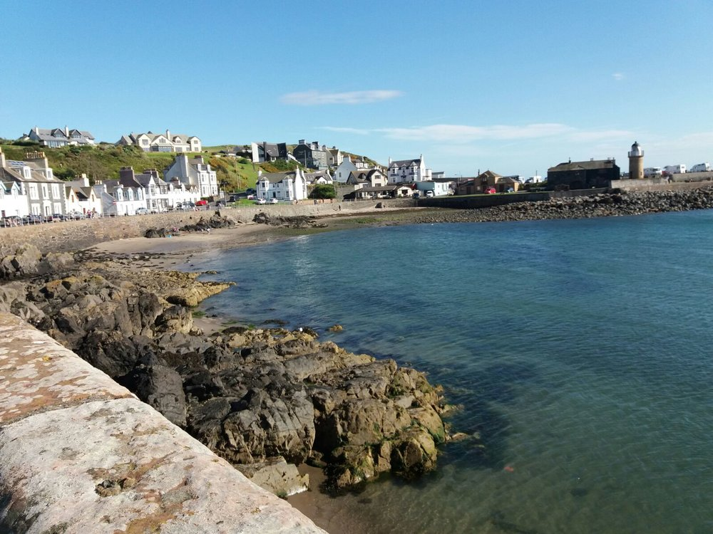 Glorious Galloway coastline Portpatrick bay.jpg