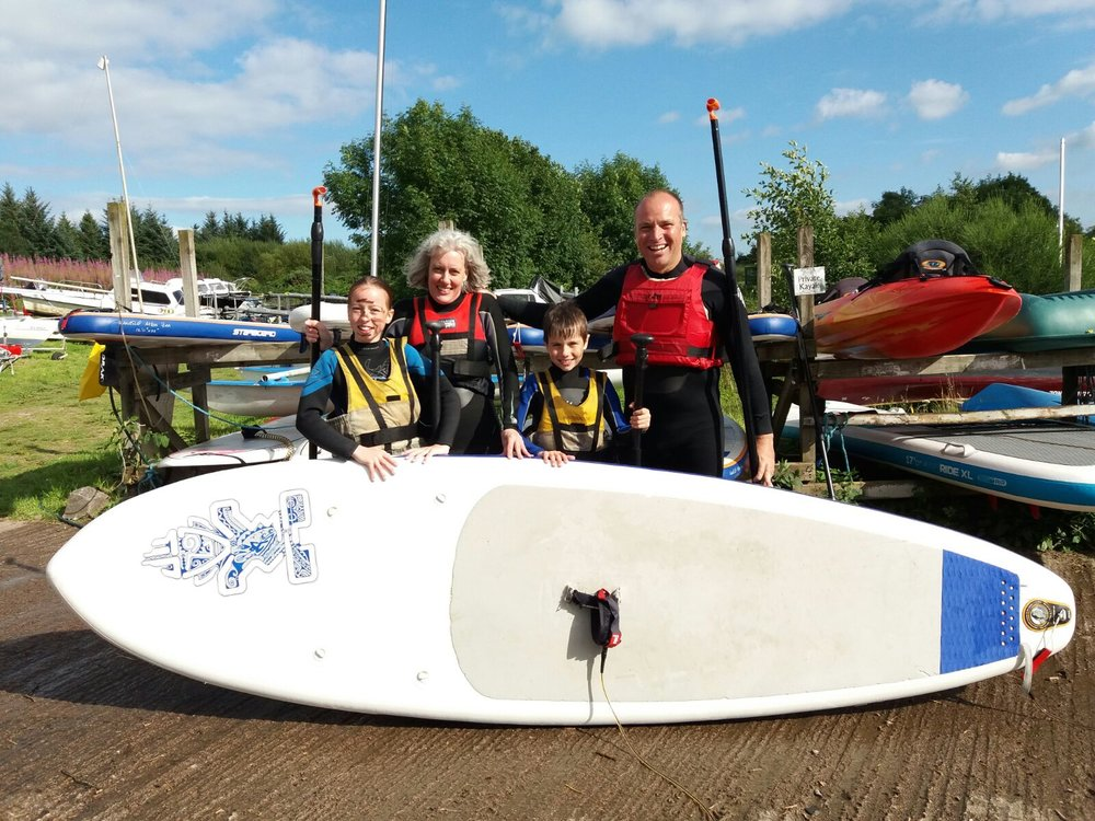 Lock Ken Activity Centre Galloway family friendly fun, paddleboarding.jpg