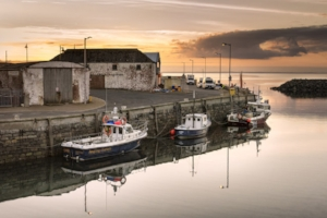 Glorious Galloway... Port William harbour, only 1.5 miles from Burnside Cottage.jpg
