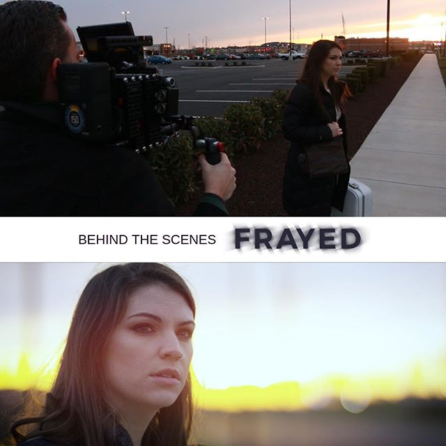 Timing is everything! This is one of our favorite shots in @frayedshortfilm  We are very excited to Premiere it next week! 🤩🎥🎬 #filmmaking #premiere #frayedshortfilm