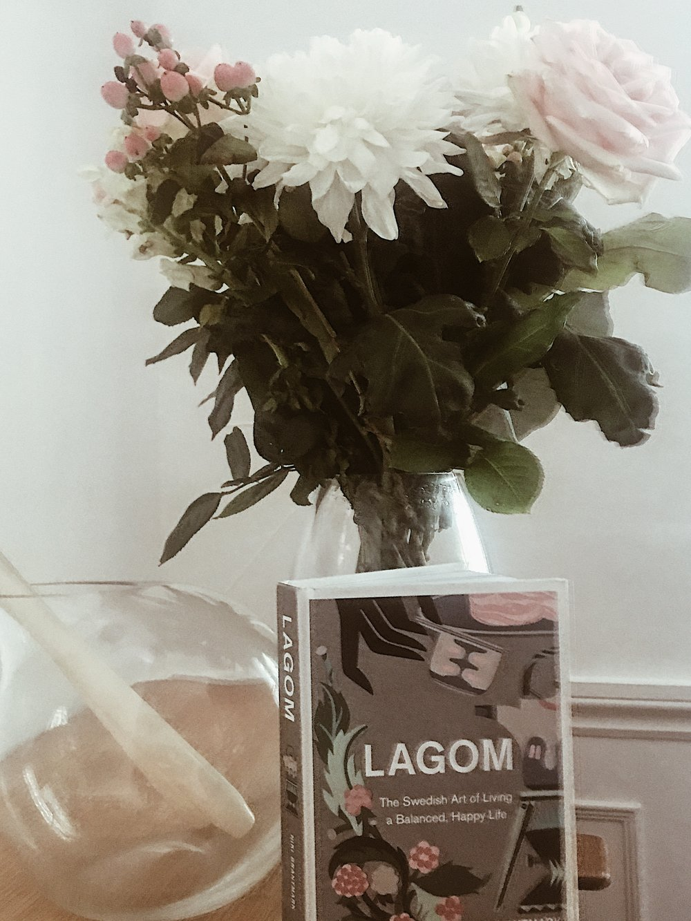 - 'Lagom' - a Swedish word loosely meaning 'just the right amount, not too little, not too much, just right'