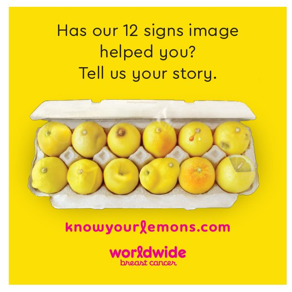 Sharing the signs - You can help by sharing your story to not only support but educate others.