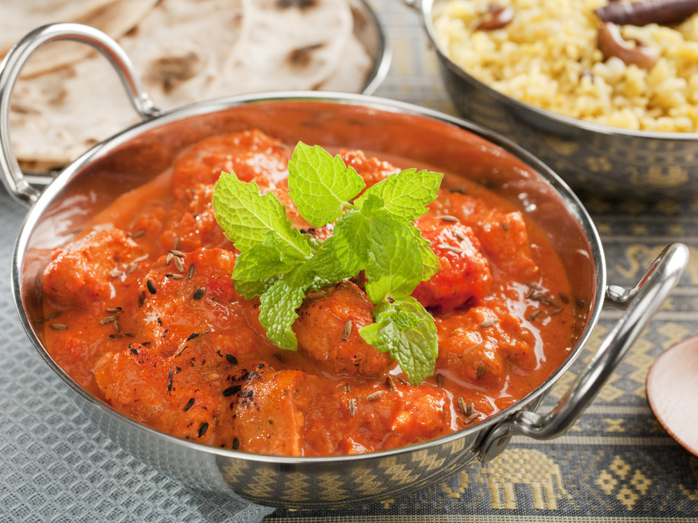 Tikka  - A mild paste that combines a delicious blend of coriander, tamarind and paprika.