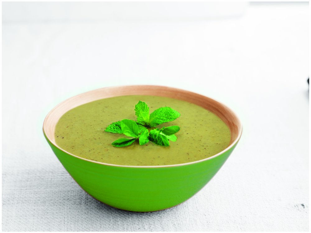 Pea & Mint  - Low fat, refreshing, fragrant and full of taste.