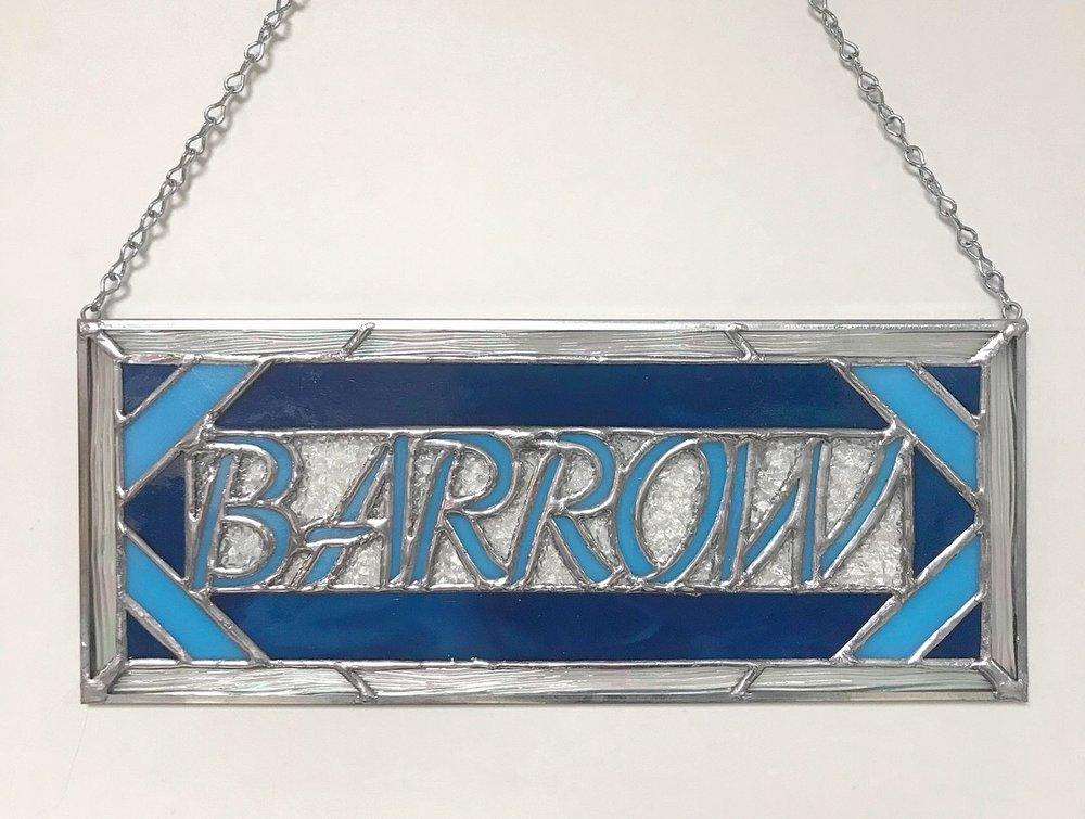 barrow name panel