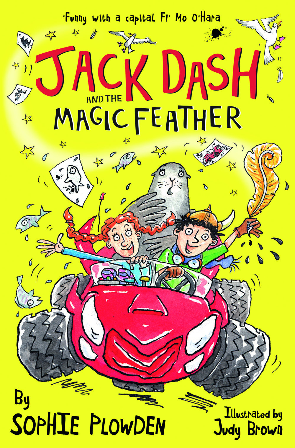 Jack Dash and the Magic Feather illustrated by Judy Brown