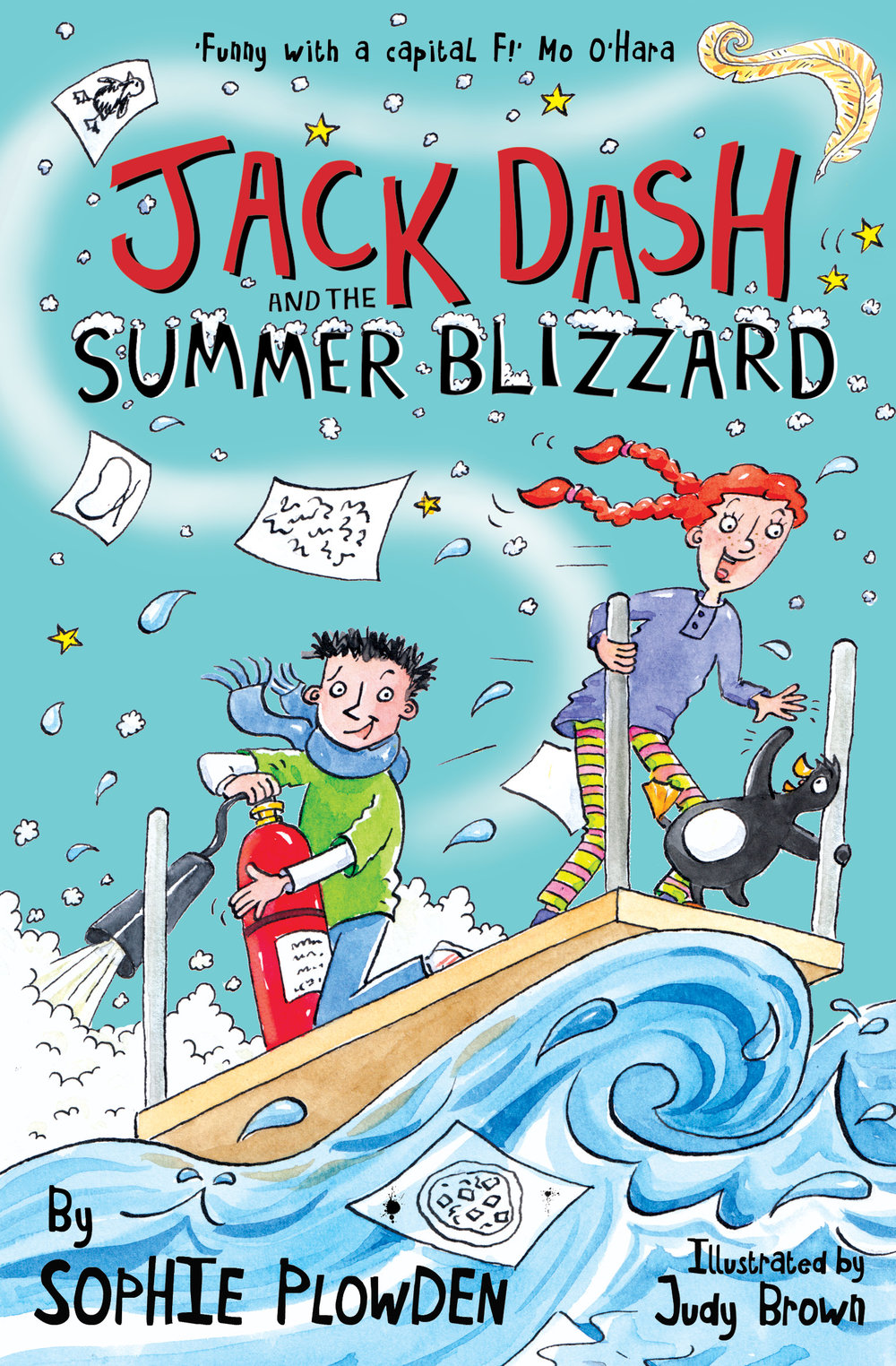 Jack Dash and the Summer Blizzard - Jack's second adventure