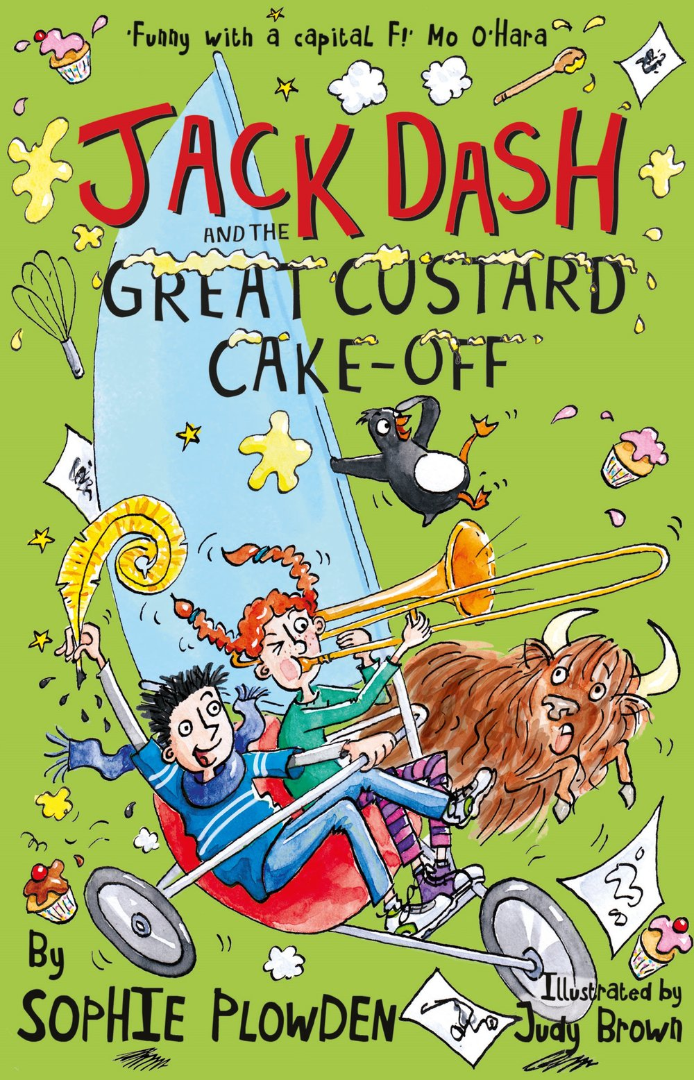 Jack Dash and the Great Custard Cake-Off, his latest and funniest adventure