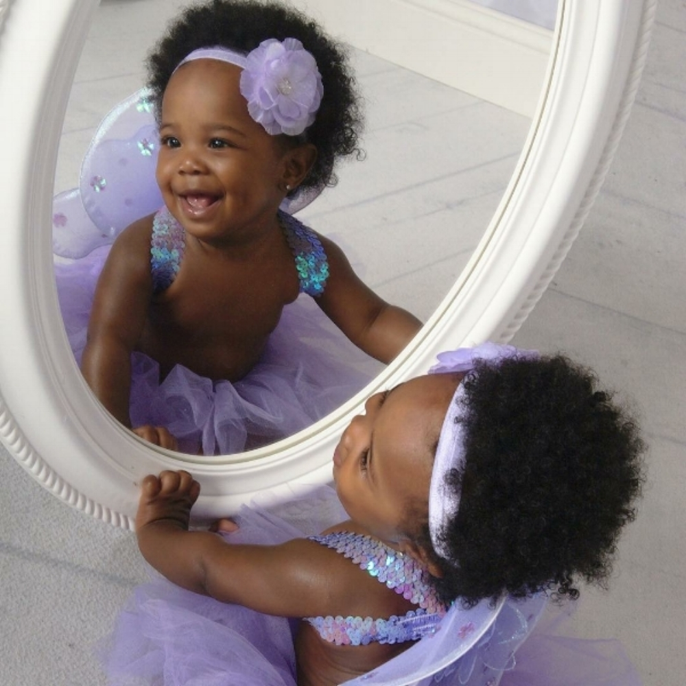 Pharmacy school, toddler meltdowns and a baby on the way | Honeycomb Moms | Wrylee Monet Steele was born August 3, 2015. This photo was taken of her as a toddler at a J.C. Penney department store in Nashville, Tenn. (Credit: J.C. Penney)