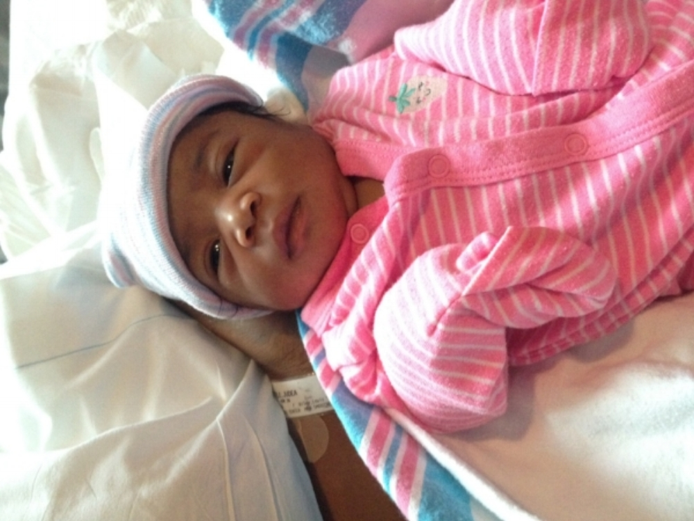 Pharmacy school, toddler meltdowns and a baby on the way | Honeycomb Moms | Wrylee Monet Steele was born August 3, 2015. This was taken when she was 2 days old at TriStar Stonecrest Medical Center in Smyrna, Tenn. (Credit: Family photo)