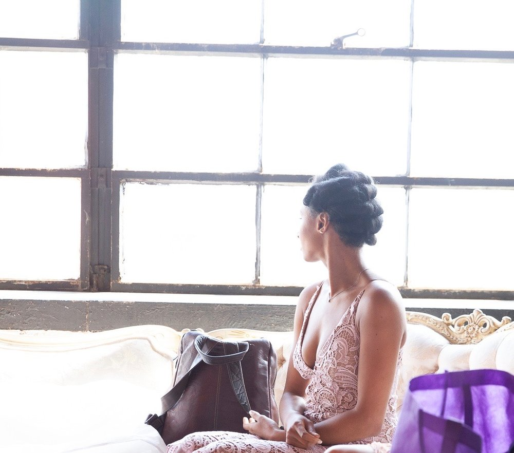 Refusing to lose myself in becoming a new mom | Honeycomb Moms | I'm all dolled up and waiting to be given a task at my friend Nicole Mitchell's wedding reception in Chicago this August. BRADLEY MURRAY / bradley@square56.com