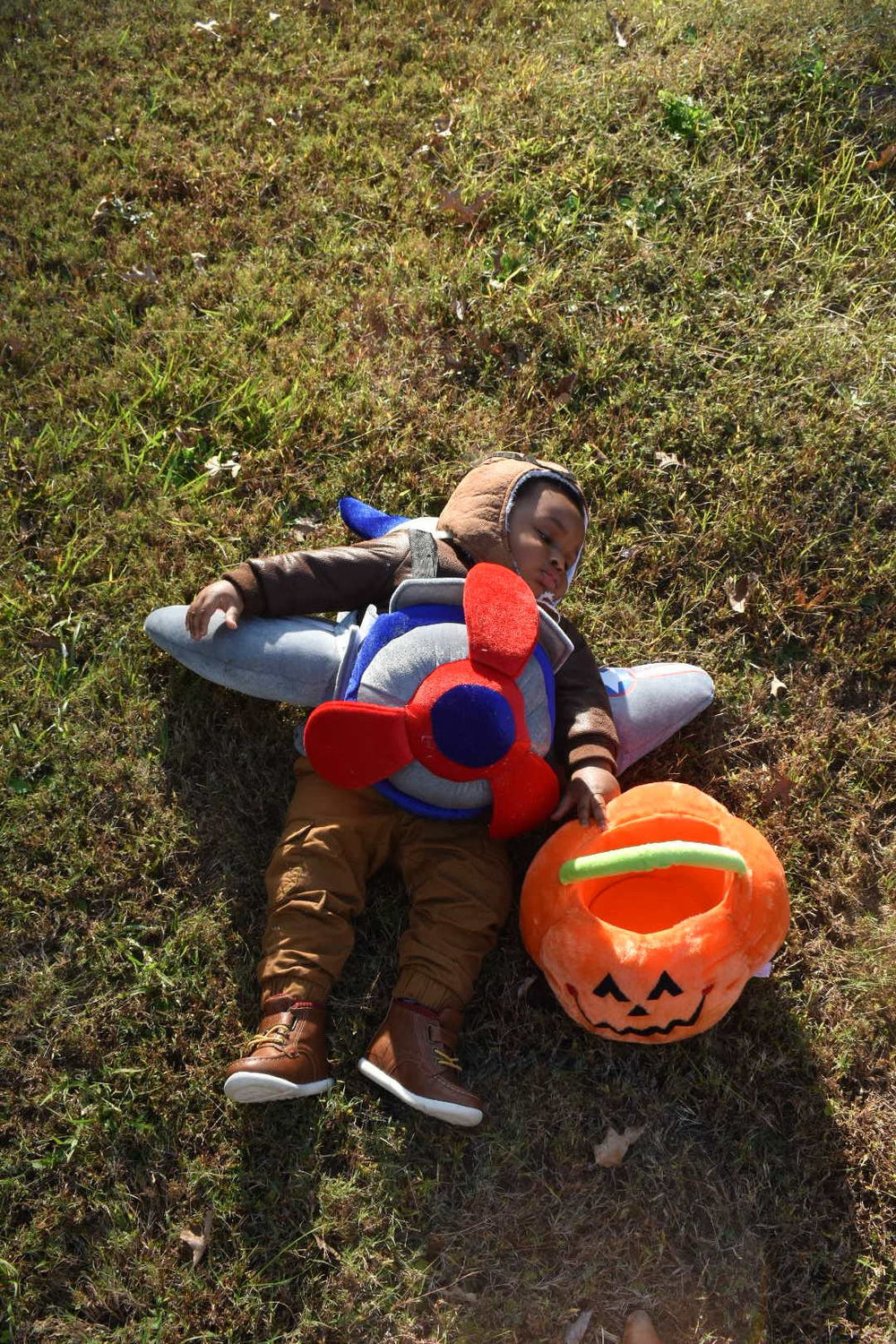 Baby's first Halloween, Baby's first Halloween comes a day early