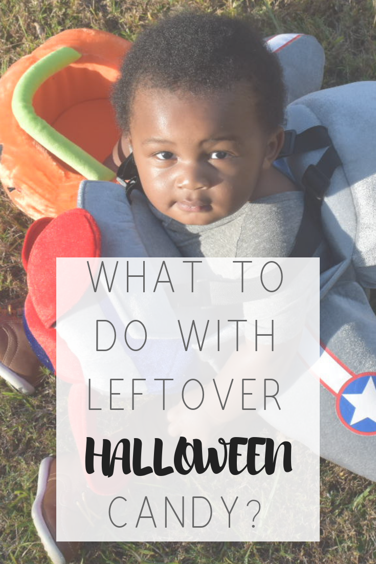 What to do with leftover Halloween candy | Honeycomb Moms | My son, Donovan, was the pilot of a single-engine plane for Halloween. The pumpkin bucket was his favorite part of the costume. LAUREN FLOYD / INFO@HONEYCOMBMOMS.COM
