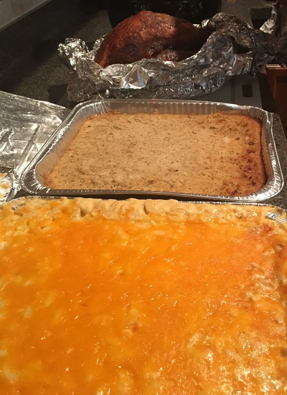 A Thanksgiving horror: 9 months pregnant and left waiting hours for food | Honeycomb Moms | My mom snapped a photo of the food we ordered from the This Is It! BBQ & Seafood in the 3500 block of Camp Creek Parkway in metro Atlanta. | Credit: Family