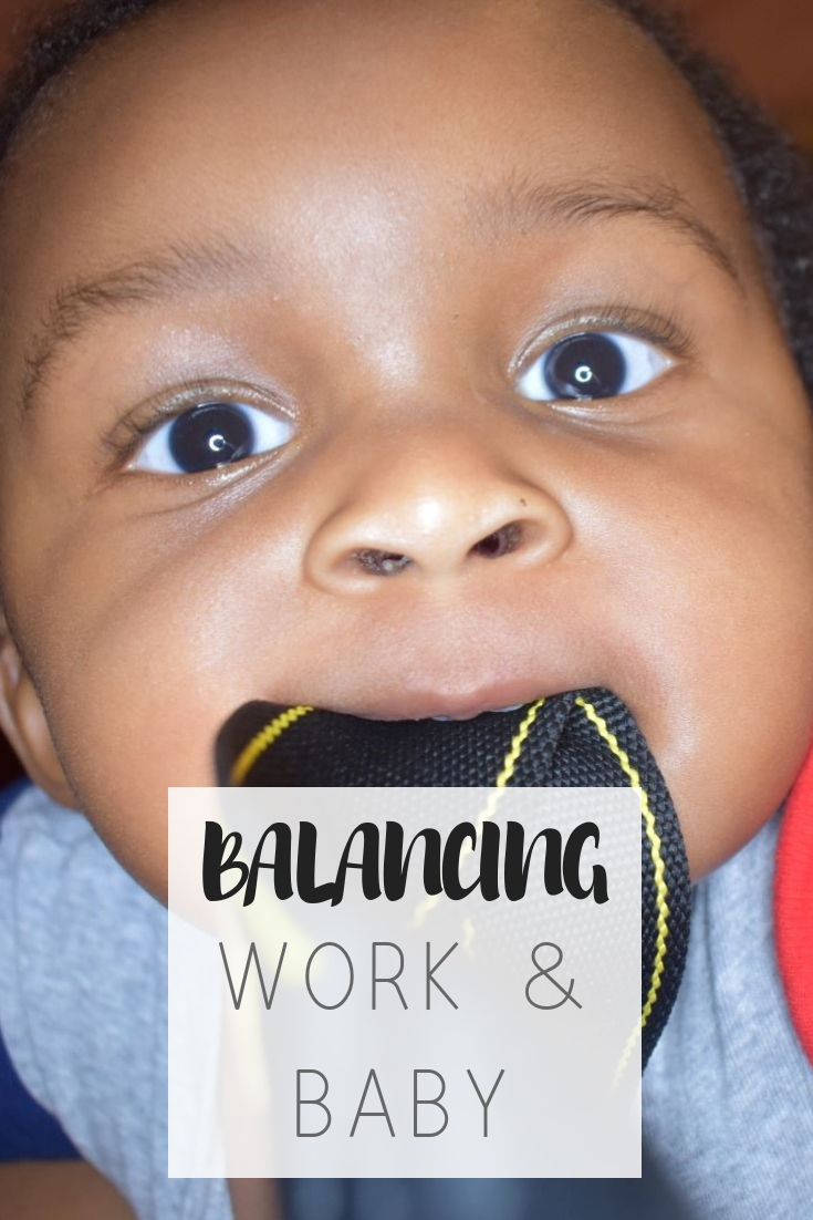 7 tips to balance working from home with baby | Honeycomb Moms| Getting anything done with a newborn is a challenge. Working from home is definitely not an exception to the rule. Learn how to balance parenthood and a new baby.