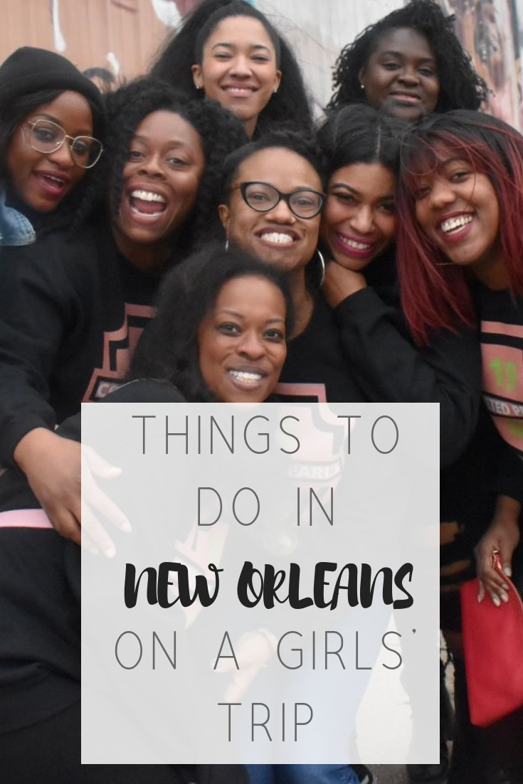 9 things to do in New Orleans for black millennials | Honeycomb Moms | The Honeycomb Moms writers had an epic girls' trip eating, drinking and dancing our way through The Big Easy. We visited black-owned restaurants, local treasures and tourist traps alike and highlighted our favorites.