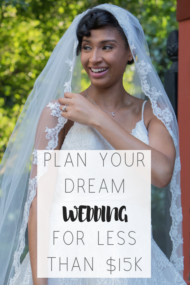 9 tips to plan your dream wedding without breaking the bank   Honeycomb Moms   You don't have to spend a lot of money to have a beautiful wedding. The Honeycomb moms give our best cost-saving wedding tips to help you spend less than $15,000 on your big day. Think cheap in cost not quality.