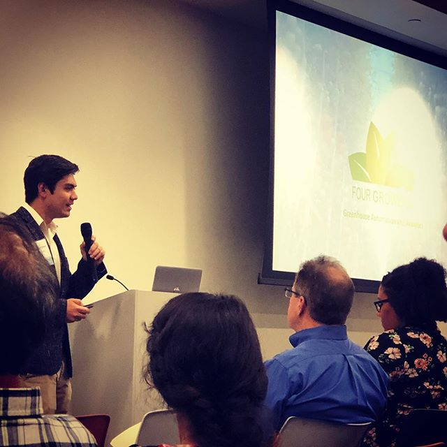 Our CEO Brandon presenting at the AI Robotics Venture Fair & Showcase #pittsburgh #robotics #projectolympus #AI #machinelearning #cmu