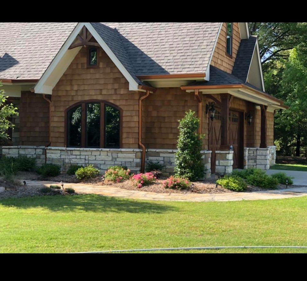 """""""We love our landscape , makes it feel like a home"""" -words from a valued customer"""