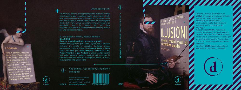 +  [re]cover book: ILLUSIONI  editor:  deditore   graphic designer: hazem talaat