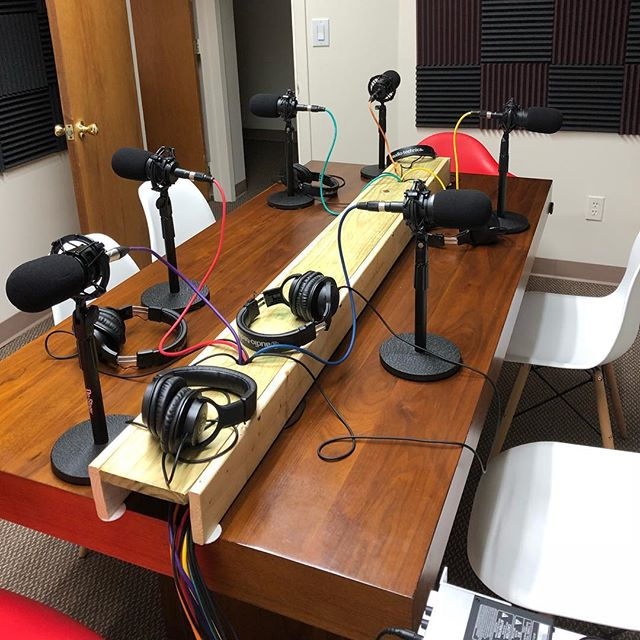 We're running six #mics for tonight's #podcast #recording. The studio is great for #groups of one to six people #podcasting to their #followers. See our website in the description to schedule your studio time now! . . . . . #longisland #newyork #nassaucounty #suffolkcounty #lipodcaststudio #longislandpodcaststudio #newpodcast #comingsoon #podcastlovers #indiepodcast #followus #LongIslandPodcast  #domination #creative  #new #major #art #artist #engineer  #grind