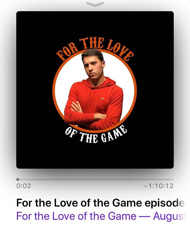 #lastweek @a.tobinhess recorded his most recent #forloveofthegamepodcast at our studio. Check out his #podcast on #iTunes! Well worth a listen. . . . . #longislandpodcaststudio #nfl #nygiants #lipodcaststudio #longislandpodcast #turnkey #podcaststudio #longisland #newyork  #podcast #sports #nysports #newyorkpodcast #PodCast #LongIsland #LongIslandPodCast #Tigerwoods #MLB #nyyankees #podcasting #Podcaststudio