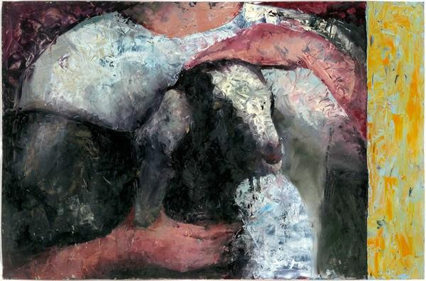 Acrylic on parchment, 2011
