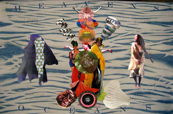 Digitally-printed collage on parchment, 2011