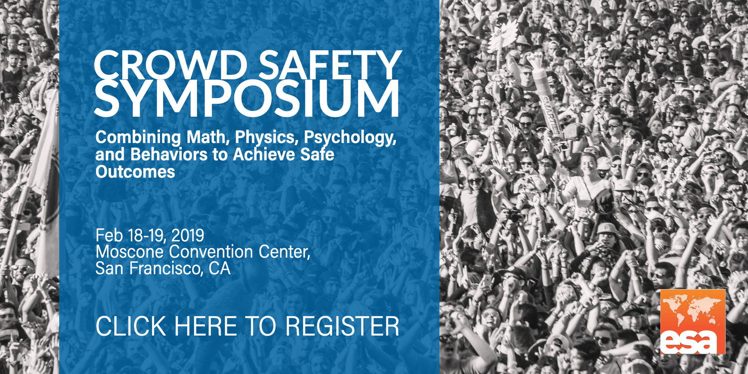 Crowd Safety Symposium 2019 -- San Francisco, CA — Event