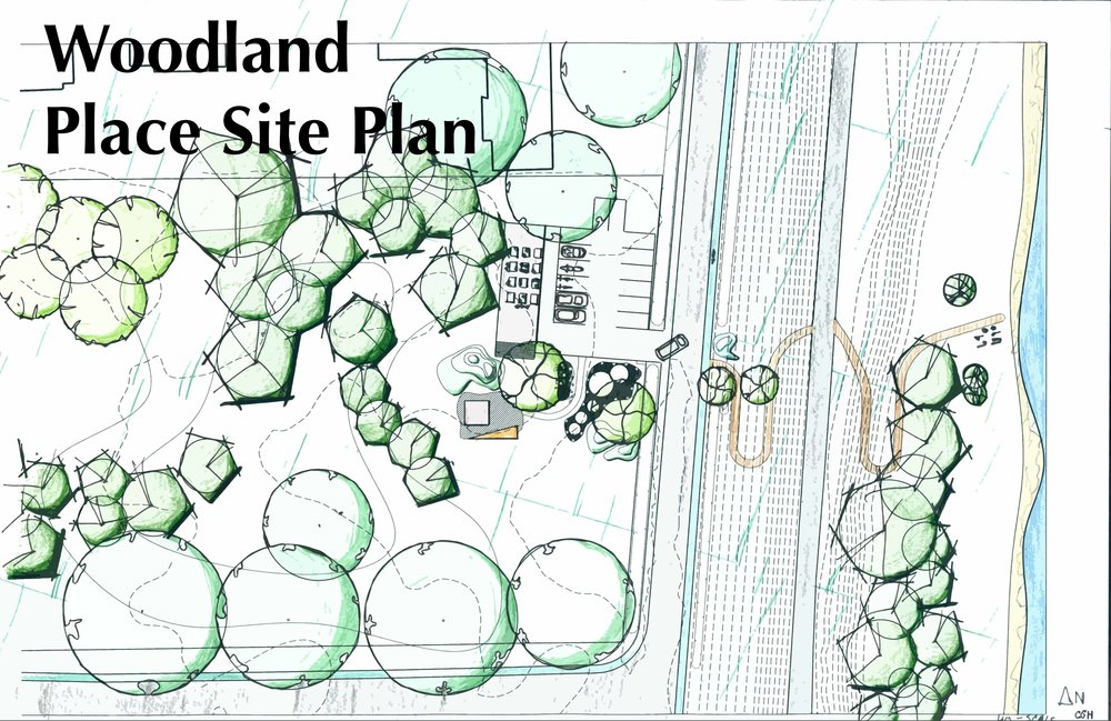Woodland Place - Site Plan