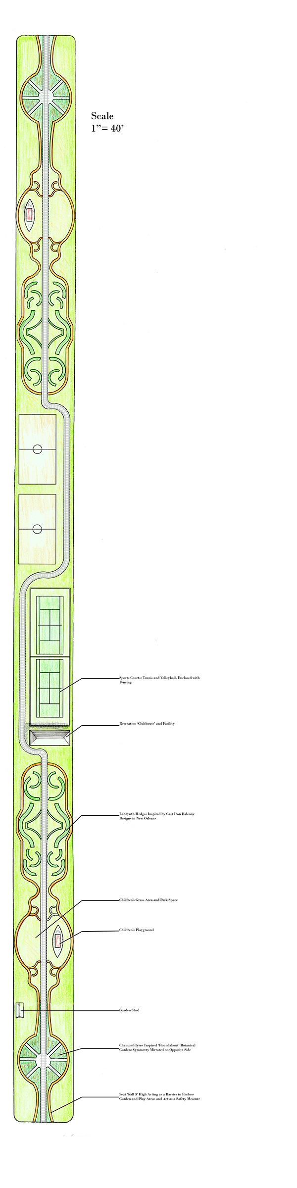 Mid-Gentilly Garden Section Redesign