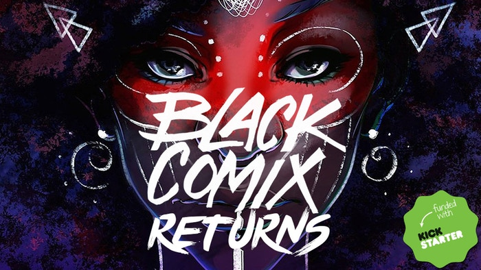 "You can get ""Black Comix Returns  here . Yours truly has an essay in this."