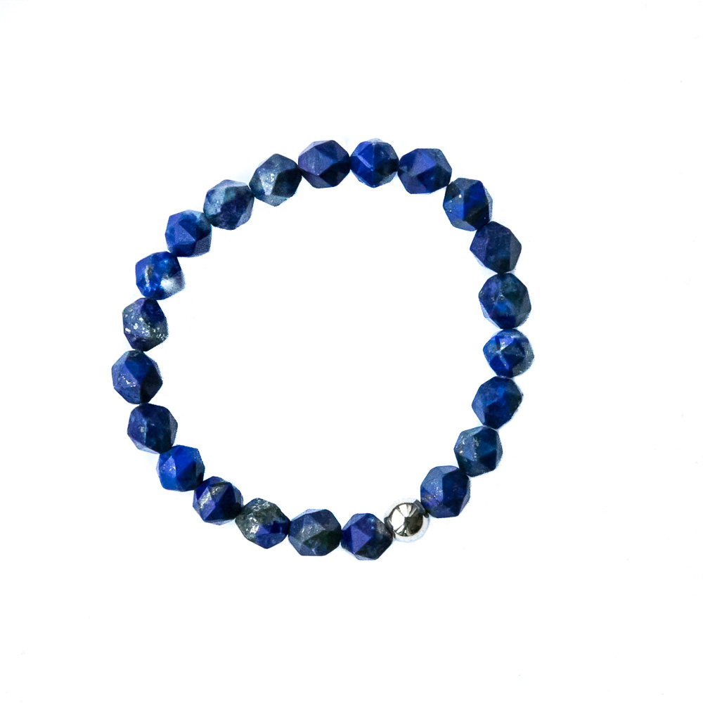Blue Lapis   Attracts harmony and enhances intuition.