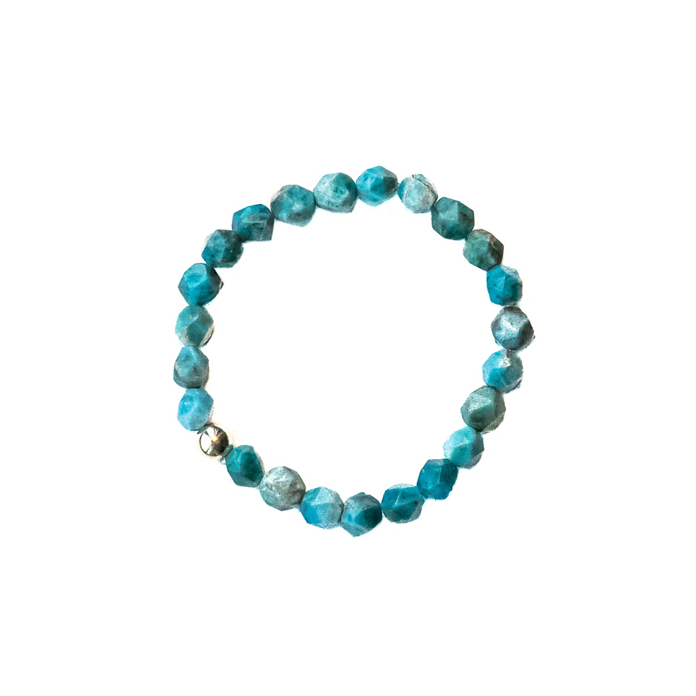 Turquoise   Stone recharges energy; brings luck and happiness.