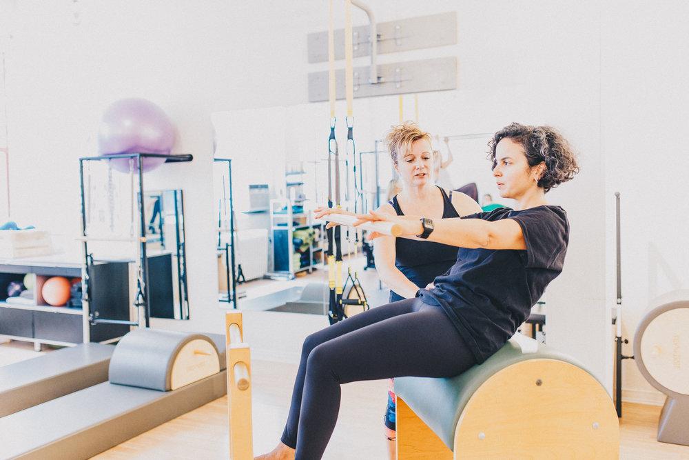 Imprint Pilates Ladder Barrel, TRX, Spine Corrector, Private Pilates instruction