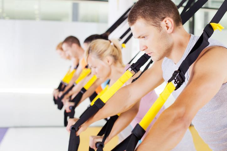 Imprint Pilates, TRX Group Class, TRX suspension training Toronto, TRX strong arms