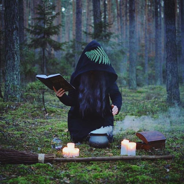 Thursday evening inspo via @lena_fox_art 🔮✨ . #tamedwild #manifesting #witchy #intentions