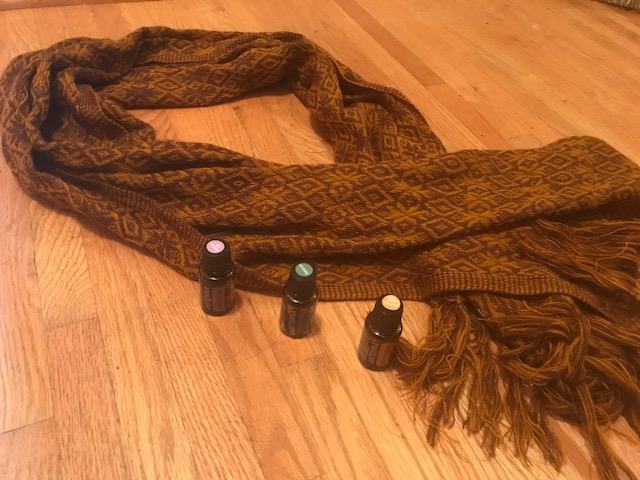 Rebozo and Oils.JPG