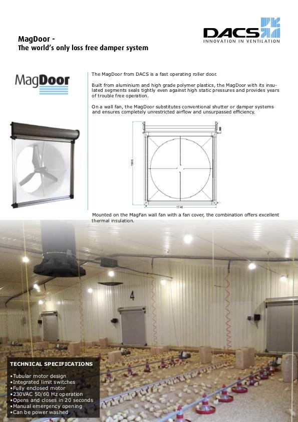 MagDoor Product Information