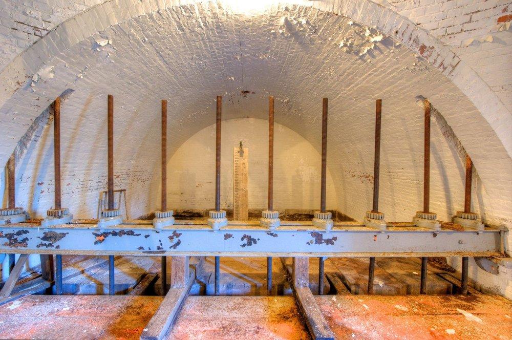 Washington Aqueduct Montgomery Meigs Vault Machinery