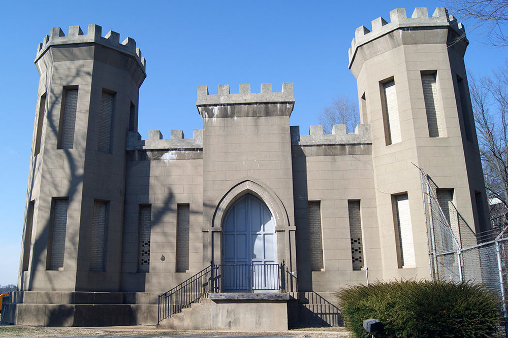 The Castle Gatehouse has become a beloved local icon in the neighborhoods around the Georgetown Reservoir. Photo: Elliot Carter