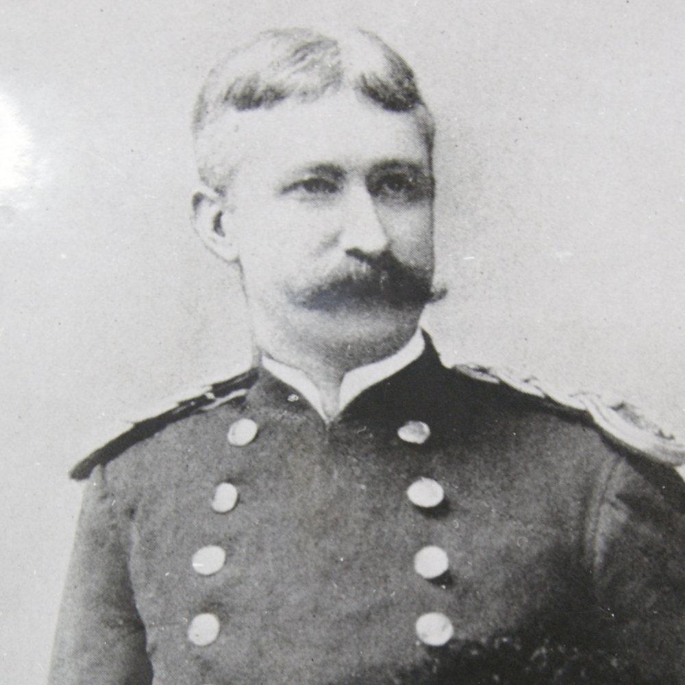 Major Garrett T. Lydecker. Photo: Army Corps of Engineers via  NARA