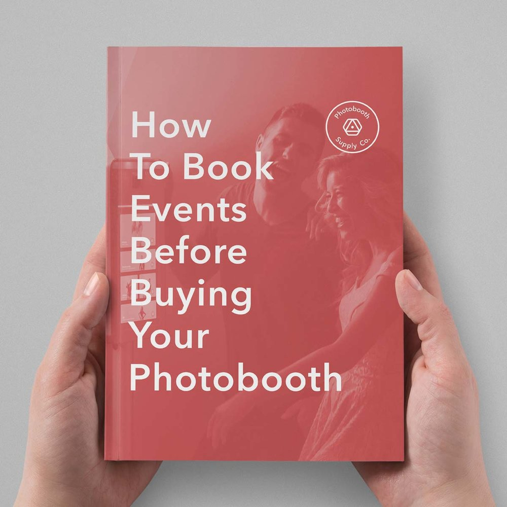 Worried About Booking Jobs? - Our photobooth owners have used this free guide to help get their business of the ground.You'll get access to:- Four easy steps to start getting paid before your booth even ships.- Free marketing materials.- Answers to the most frequently asked questions on how to run a photobooth busines.