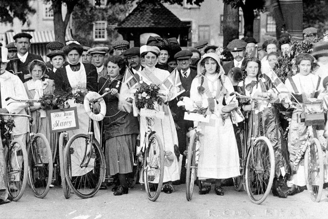 The Suffragette's championed the bike as a tool for liberation.