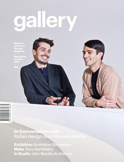 Formafantasma NGV Gallery Magazine