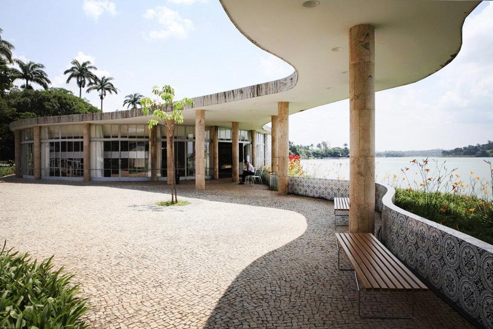 Casa do Baile, Pampulha Belo Horizonte, Oscar Niemeyer