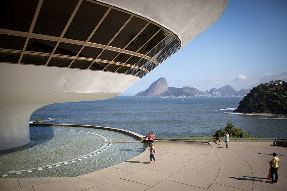 Museum of Contemporary Art MAC Niteroi, Oscar Niemeyer